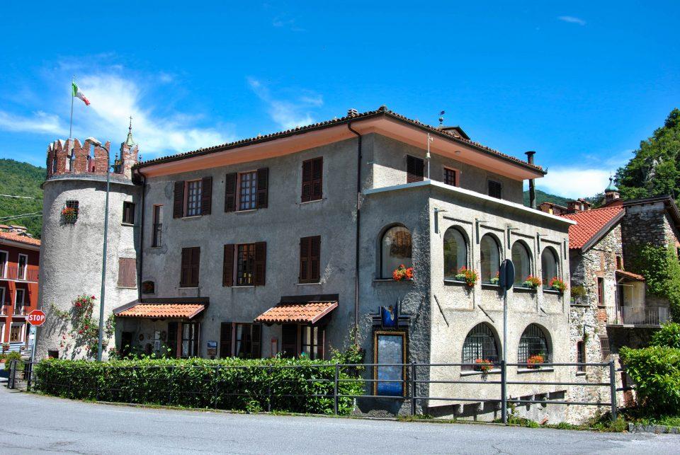 L'entrata del borgo medievale di Garessio