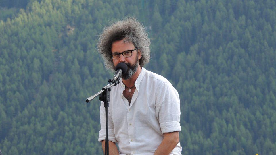 Simone Cristicchi ad Aosta Classica 2020