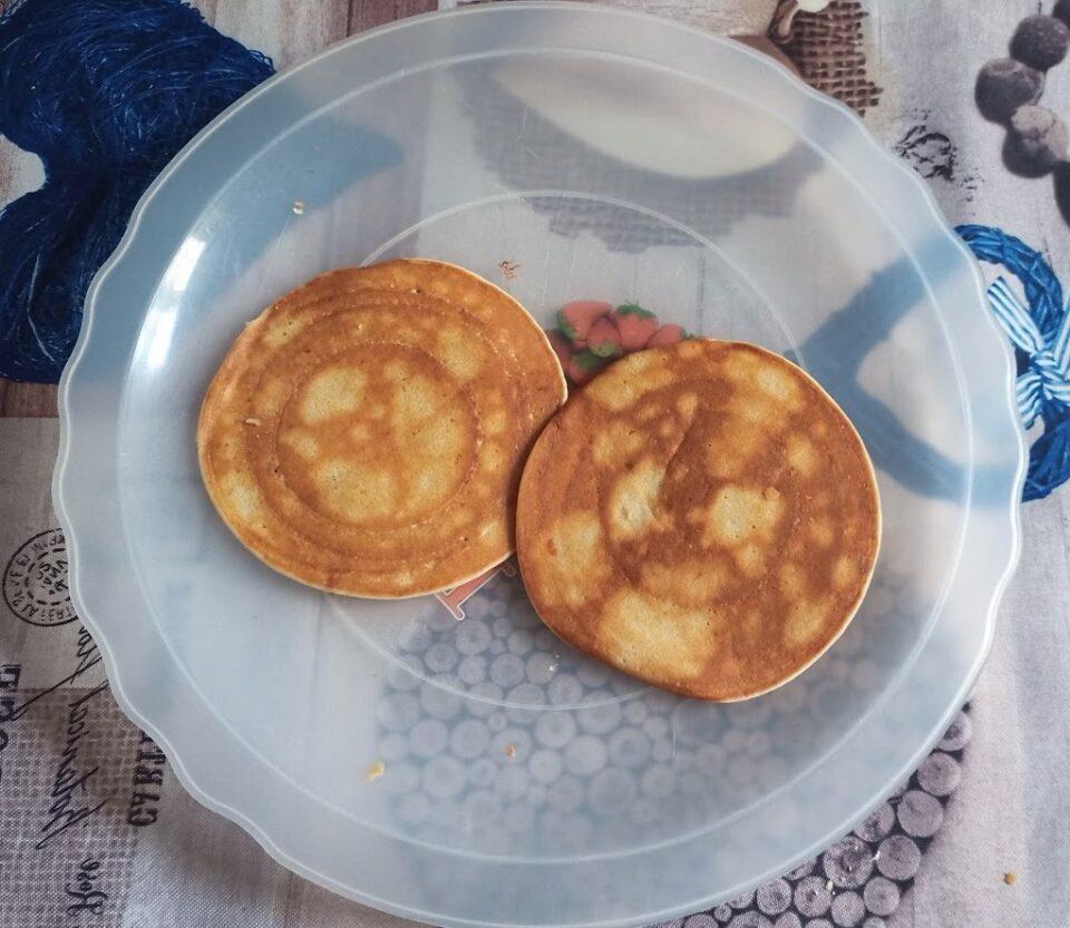 Ecco pronti i nostri pancake alla banana!