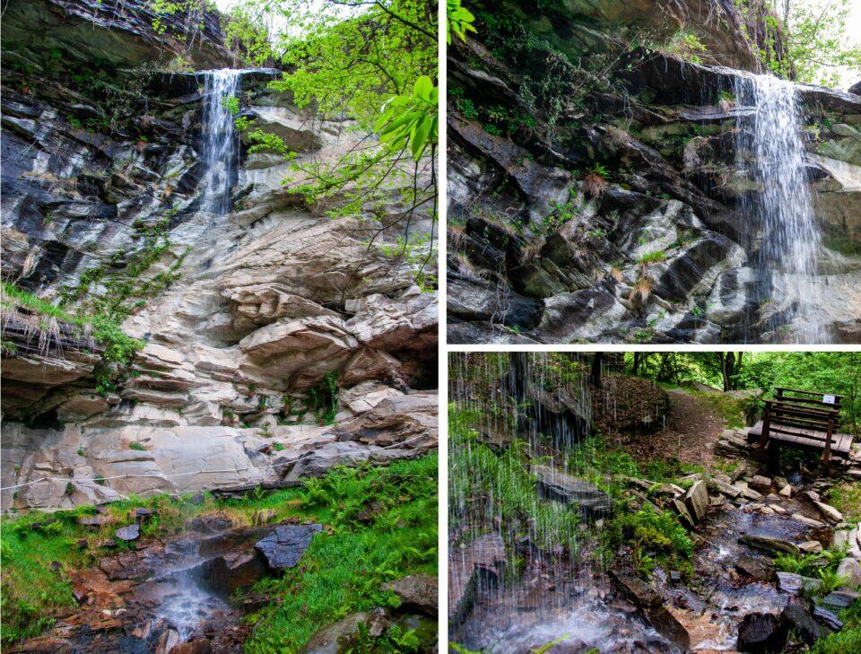 La cascata di Balma Boves